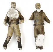 RAIDERS OF THE LOST ARK (1981) - Pair of Plaster Nazi Soldier Figures