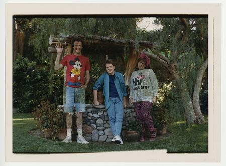 BACK TO THE FUTURE (1985) - Oversized Fading Insert Photograph — Marty's Siblings Disappearing