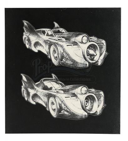BATMAN (1989) - Batmobile Designs
