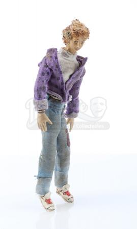 BILL & TED'S EXCELLENT ADVENTURE (1989) - Bill (Alex Winter) Miniature Puppet