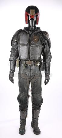 DREDD (2012) - Judge Chan's (Karl Thaning) Complete Costume