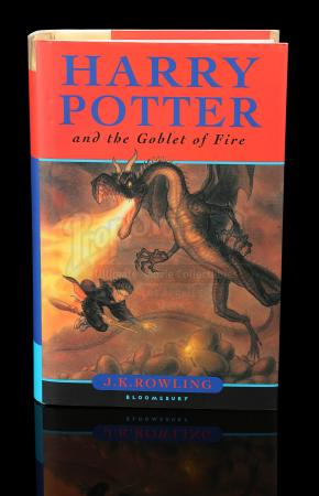 HARRY POTTER AND THE GOBLET OF FIRE (2005) - Cast Autographed Book