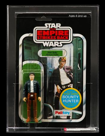 STAR WARS: THE EMPIRE STRIKES BACK (1980) - AFA Graded Han Solo Palitoy Action Figure